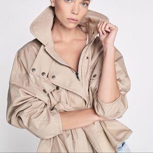 Marissa Webb canvas tan Kayla jacket